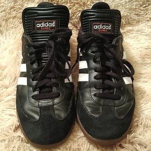 Addias Samba black and white shoes